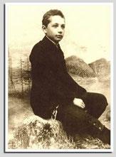 Einstein als Junge 1893