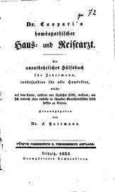 Figure 2: Carl Gottlob Casparis Homeopathischer Haus und Reisearzt 1833