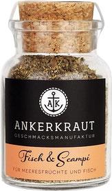 Ankerkraut Fisch & Scampi Fischgewürz - Set Gewürzmischungen-Set Mehr Meer