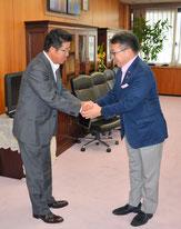 松井知事と経済産業大臣