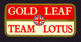Gold Leaf Team Lotus