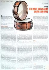 Adoro Signature Snare - Roland Duckarm