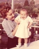 Véronique Jannot et sa mèree