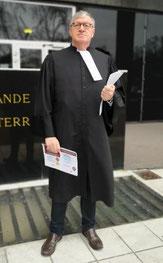Yann Leclerc, trésorier de l'incubateur et membre du conseil de l'Ordre