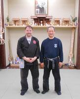 Carsten mit Nagato Daishihan