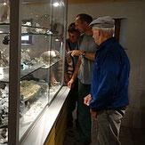 Sammlung Museum Mineralien Vals Schweiz Graubünden Bergkristalle Touristen Attraktion Ausflug