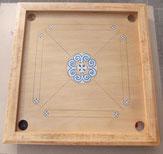 carrom artisanal motif viking