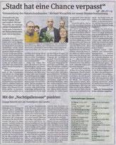 Volksstimme Schönebeck vom 25. Januar 2016 (Heike Heinrich)