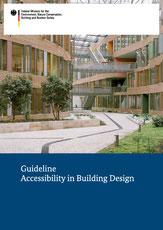 Abbildung vom Deckblatt der Guideline Accessibility in Building Design