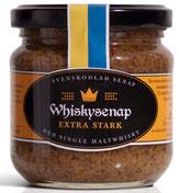 Whiskey Senf, Senf aus Schweden, schwedischer Senf