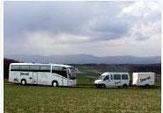 Rischka,  Velo, Boot, Bus...