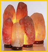 Lámparas del Himalaya, libros y minerales Herbolario Alquimista Arrecife Lanzarote