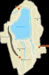 Parco Nazionale Lago Nakuru - Mappa