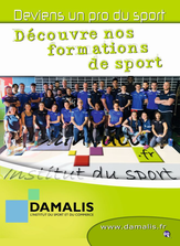 BPJEPS métier du sport chez Damalis