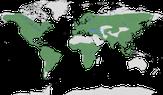 Karte zur Verbreitung der Familie der Spechtartigen (Picidae)