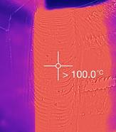 Thermografische Temperaturkontrolle