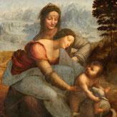 《聖アンナと聖母子》