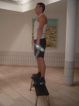 Sportfreund Luca ist ca. 1.75 m groß bei ausgeglichenem Körperbau