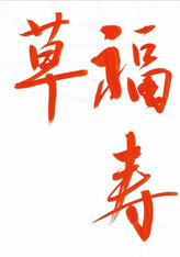 福寿草,半紙手本,望月擁山(俊邦)
