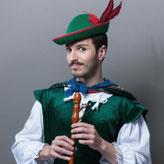 The pied piper of Hamelin (El flautista de Hamelin)