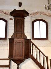 La chaire de la chapelle Saint-Mard à Valines