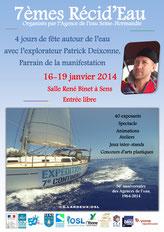 7ème Récid'Eau à Sens du 16 au 19 janvier 2014
