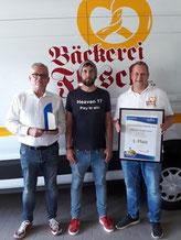 3. Platz für die Bäckerei Flesch beim bundesweiten Käse-Snack-Award.