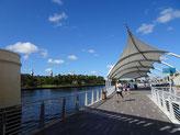 Tampa Riverwalk, Florida