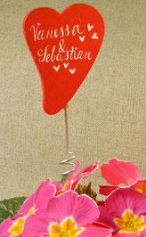 Blumenstecker für Topfpflanze oder Strauß
