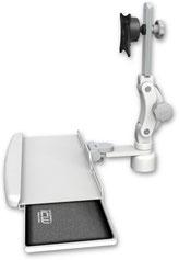 デスクマウント ディスプレイキーボード用アーム:ASUL550-D1-KDB
