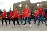 Die Minni-Mäuse der Tanzenden Gemeinschaft des MTV Weferlingen drehten voll auf....