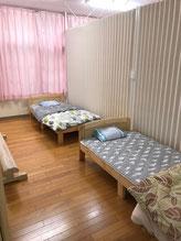 山口分場の男子用休憩室