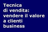 Speedy Seminar FORTIA Tecnica di vendita - vendere il valore