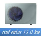 Link stufenlose Inverter 15,0 kW 230V von Holter Wärmepumpe Poolheizung