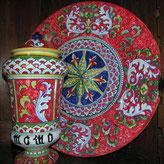 piatto in ceramica ceramic plate