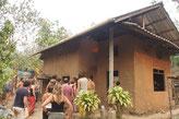 Quelques maisons en terre à Panya Project