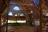 La hutte centrale de Sadhana