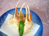 カニ爪の天ぷら