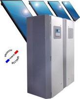 eau chaude solaire, ballon eau chaude sanitaire et chauffage, thermosolaire, solaire hybride PV-T
