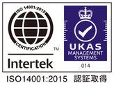 ISO14001認証ロゴマーク