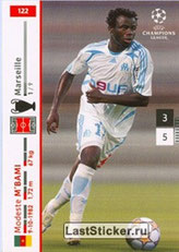 N° 122 - Modeste M'BAMI (2003-06, PSG > 2007-08, Marseille)