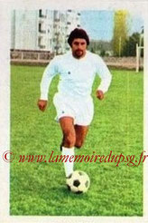 N° 027 - Albert POLI (1971-72, Angers > 1974-75, PSG)