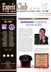 Programme  Lyon-PSG  2002-03