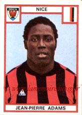N° 204 - Jean-Pierre ADAMS (1975-76, Nice > 1977-79, PSG)