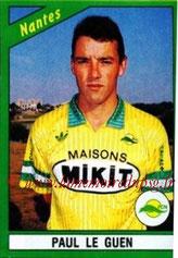 N° 158 - Paul LE GUEN (1990-91, Nantes > 1991-98, PSG > Janv 2007-09, Entraîneur PSG)