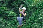 Itinerario:  Pacuare, Arenal, Monteverde, Manuel Antonio