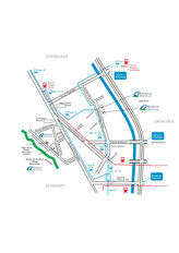 Plan accès transport