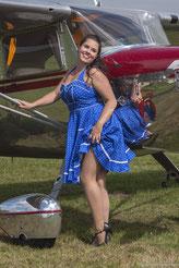 Twee schoonheden op de Vliegers-Picknick 2012