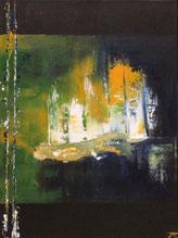 Landschaft, Acryl auf Leinwand 30 x 40