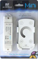 M1+RGB-33A Descripción: KIT Mini Controlador. - Consumo: Potencias: 108W/216W Voltaje de Operación: 12V/24V Incluye equipo: Incluye Control Remoto M-1 Dimmer. Incluye Batería.